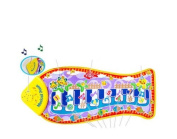 Piano Children's Rug Design Fish Start Musica Bebes Pleasant Tones and Texture Gift Christmas Kings Open Buy Santa