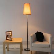 MMM Floor Lamp Simple Pastoral Living Room Bedroom Study Landing Lighting Personality Linen Light