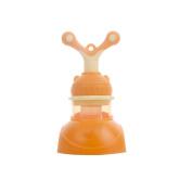 LOERO Fresh Food & Fruit Pacifier Baby Feeder Silicone Fresh Fruit Feeder.green purple orange . , snail orange