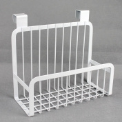 stable Shelf, Japanese-style cupboard Hanging basket Iron Incorporated kitchen Shelf Japan and South Korea Home Supplies Simple and elegant