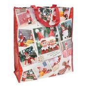 Elves Behavin' Badly 46cm x 41cm Christmas Reusable Shopping Bag