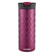Contigo SnapSeal Kenton Vacuum-Insulated Stainless Steel Travel Mug, 590ml, Very Berry
