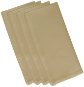 E by design 48cm x 48cm , Solid Print Napkin, Polyester, Beige