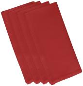 E by design 48cm x 48cm Print Napkin, Solid, Coral