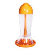 Oil Sprayer Olive Pump Spray Bottle Oil Sprayer Pot kitchen Gadgets Tools Orange