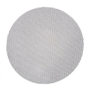 MANTTANG - 40cm Diameter Safety Round BBQ Grid Shape Grill Mat Heat Resistance Non-Stick