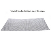 MANTTANG - 3040cm BBQ Barbeque Outdoor Grill Replacement Cooking Grid Grate Mat Pad Silver
