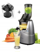 KUVINGS SLOW JUICER B 6000 grey WITH OPTIONAL CITRUS PRESS