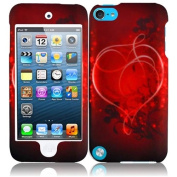 HR Wireless iPod touch 5 Rubberized Design Protective Cover