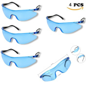 Kids Children's Grey Resilient Shatterproof Outdoor Game Protective Goggles Safety Glasses Eyewear for Nerf N-Strike Elite Gun Toy Gun Game Eye Protection