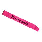 1Pc Bachelorette Party Accessory Hen Night Stain Sashes Wedding Party Sash size Bridemaid