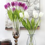 BENHAI 1PC Wedding Bouquet Tulip Artificial Photography Home Decor Wedding Bouquet For Bouquet Props Artificial Flower