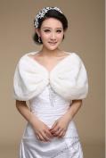 Musuntas Winter Scarf Wedding Faux Fur Bridal Cape Wedding Bride Bridal Jacket Cape Bridesmaid Dress