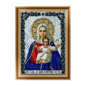 MORESAVE 5D Round Diamond DIY Cross Stitch Religious Embroidery Painting Home Decor (A10
