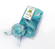 CONF. 50 Bows Rapid Ribbons – Teal – 31 mm – Rosette Wedding Decorations