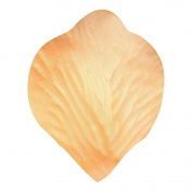 Fablcrew Petals Silk Rose Flower Petals for Wedding Table Decoration Confetti 1000PCS 5x5CM Orange