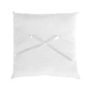 Ring pillow/Trauk Cushion, White – 18 cm x 18 cm