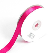 3mm x 50m Hot Pink Double Sided Satin Ribbon - Florist, Arts, Crafts, Gift Wrap
