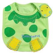 Lovely Cute Cartoon Pattern Toddler Baby Waterproof Saliva Towel Baby Bib