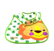 Liroyal Cartoon Style EVA Plastic Infant Bib Waterproof Baby Pinny 0-6 years Feeding Care