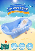 Mom & Me : Two stage bath tub for Toddler up to 36 months with back and bum support for safe and secure bath