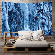 Hoomall Wall Hanging Tapestry Winter Holidays Decorations Collection for Bedroom Living Room Dorm