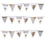 Ready Steady Bed® Jurassic Design Children's Polycotton Bunting Room Decoration