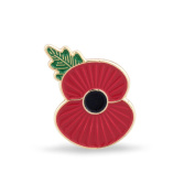 The Royal British Legion Ridge Poppy Lapel Pin