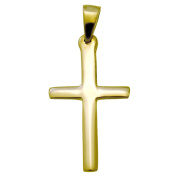 Heavy 9ct Gold Cross - 11mm x 28mm - 2.1g - Comes with Jewellery Presentation Box