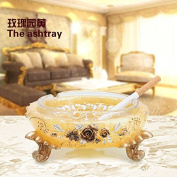 Christmas gifts, resin creative living room, retro ashtray,A