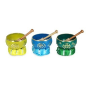 TIbetan Bowl, with cushion 12 cm Assorted