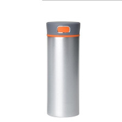 Thermal cup, male lady, stainless steel antibacterial body cup, creative kettle, cup, creative office Cup,grey