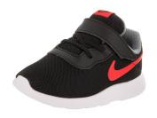 Nike Toddlers Tanjun (TDV) Black/Max Orange Cool Grey Running Shoe 7 Infants US