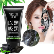 Blackhead Remover Mask Yiitay Bamboo Charcoal Face Cleansing Mask Peel Off Mask