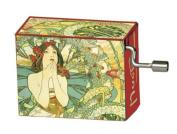 "Fridolin 148060cm Beethoven For Elise/Mucha Monaco Monte Carlo"" Music Box"