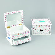 Wooden Ballet Trinket Box with Drawer