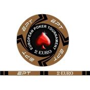 Fiches Ceramica EPT Replica Valore 2 Euro