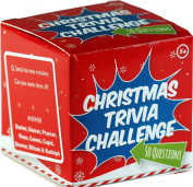 Family Christmas Trivia Card Game Challenge - Fun For Dinner Party Table by Blue Whale Gifts