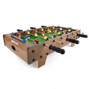 Power Play TY5896DB Table Top Football Foosball Game, 70cm
