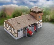 Aue-Verlag 42 x 26 x 28 cm Fire Station Model Kit