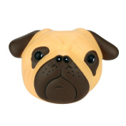 NXDWJ Pug Face Scented Squishy Charm Slow Rising 8cm Simulation Kid Toy JB