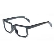 Clear Lens Glasses - Wayfarer Style for Fancy Dress Geek Nerd Retro Schoolgirl Hipster Sexy Outfit Vintage