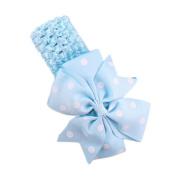 Headbands for baby girls, KaloryWee Cute Girl's Headband Flower Wave Bandeau Babys Headbands Flower Head Wear Hair Band