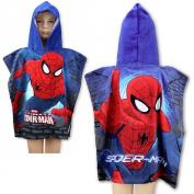 Spiderman Bath Poncho Hood/Cape * 110 cm * New *