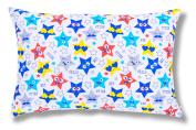 Ami Lian Filled Cushion Decorative Cushion 40 x 60 cm Stars Design Blue Hello