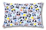 Ami Lian® Panda Filled Cushion Decorative Cushion 40 x 60 cm Grey