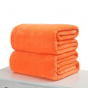 Flannel Blanket, Woopower 100cmx150cm /120cmx200cm Pure Colour Soft Warm Sofa Blanket Single Double King Bed Blanket