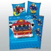 Herding Fireman Sam 40x60/100x135 Bed Linen 100% Cotton