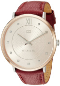 Tommy Hilfiger Women's 'SOPHISTICATED SPORT' Quartz Steel-Two-Tone and Leather Casual Watch, Colour:Brown (Model