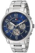Tommy Hilfiger Men's Quartz Stainless Steel Watch, Colour:Silver-Toned (Model